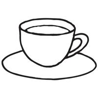 Tasse ausmalbild  Malvorlagen Window Color Vorlagen Ausmalbilder Essen und Trinken